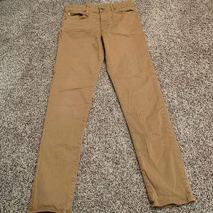 Like new men's khaki pants